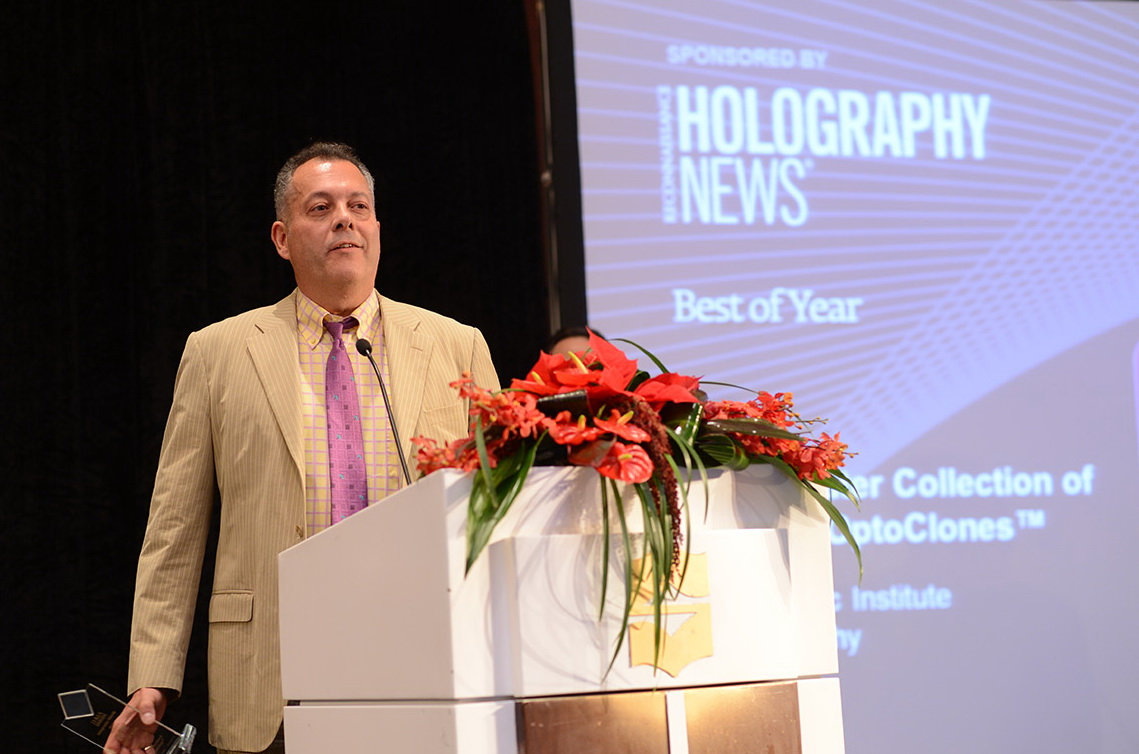 Alkis IHMA Award at holography-conference-2015a 5954