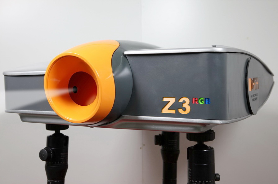 ZZZyclops colour holography camera Central View